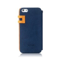 Zenus Color Edge Cover Case for Apple iPhone 5 - Navy