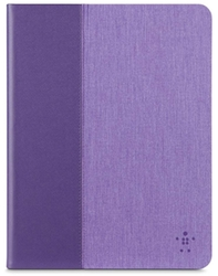 "Belkin 10"" Chambray Cover for iPad Air/iPad Air 2 - Purple"