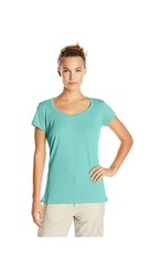Columbia Women's Innisfree Short Sleeve T-Shirt - Oceanic - Size: Large