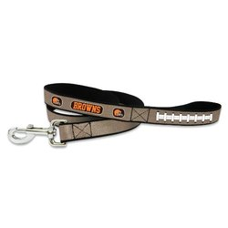 NFL Cleveland Browns Reflective Football Leash, Large