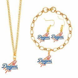MLB Los Angeles Dodgers Jewelry Set