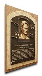 MLB Boston Red Sox Bobby Doerr Baseball Hall of Fame Plaque - Brown