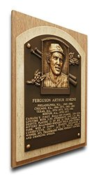 MLB Chicago Cubs Fergie Jenkins Baseball Hall of Fame Plaque on Canvas