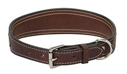 """Weaver Leather Stampede Collar, Rich Brown, 1"""" x 21"""""""