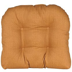 India House Husk Texture Ginger Outdoor/Indoor Single U Cushion - 21x18""