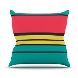 "Kess InHouse Danny Ivan ""Simple"" Outdoor Throw Pillow - 26"" X 26"""