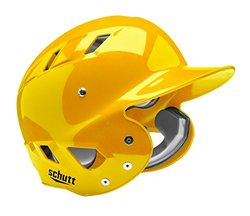 Schutt Sports Senior OSFM 3110 AIR MAXX T 4.2 BB Batter's Helmet, Gold