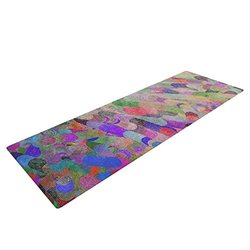 "Marianna Tankelevich ""Abstract"" Yoga Exercise Mat - Rainbow"