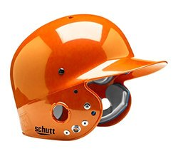 Schutt Sports Junior OSFM 2809 AIR PRO MAXX T Batter's Helmet, High Gloss Burnt Orange