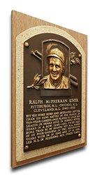 MLB Pirates Ralph Kiner Baseball Hall of Fame Plaque on Canvas