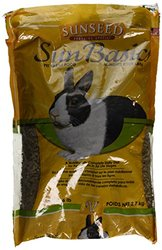 Sun Seed Company SSS13306 Rabbit Pellets, 6-Pound, Pack of 6.