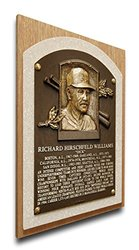 That's My Ticket Dick Williams Baseball Hall of Fame Plaque - Brown - Med