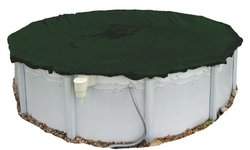 Silver Arctic Armor Winter Cover For 24Ft Round Above Ground Pools