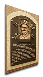 That's My Ticket Rick Ferrell Baseball Hall of Fame Plaque - Brown - Medium