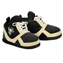 NHL Pittsburgh Penguins 2015 Sneaker Slipper - Black - Size: Small