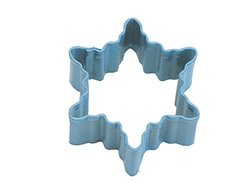 CybrTrayd R&M No.2 Snowflake Durable Cookie Cutter - Blue - 12 Count