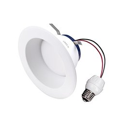 "85W Equivalent Soft White 6"" Dimmable LED Retrofit Recessed Downlight"