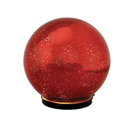 Mr. Christmas Twinkling Sphere, 5-Inch, Red
