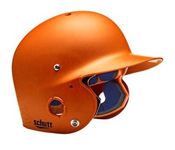 Schutt Sports Junior OSFM 2742 AIR PRO 4.2 Batter's Helmet, Burnt Orange Matte Clear