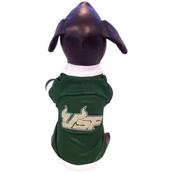 NCAA South Florida Bulls Athletic Mesh Dog Jersey - Size: Tiny