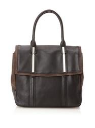 Walter Women's Enzo Tote Bag, Black/Chocolate