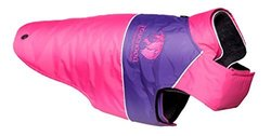Touchdog Convertible Dog Coat MD Pink/Purple Pink/Purple