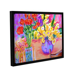 "Susi Franco's Summer Flowers Framed Canvas - 18""X24"""