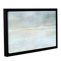 "ArtWall 16""x24"" Landscape Snow Gallery Wrapped Floater Framed Canvas"