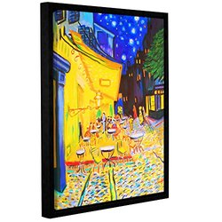 Susi Franco's Cafe Terrace Gallery Wrapped Floater-Framed Canvas 18 x 24""