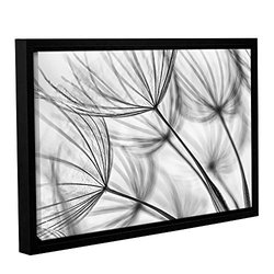 Cora Niele's Parachute Seed I Gallery Floater Framed Canvas - 16x24""