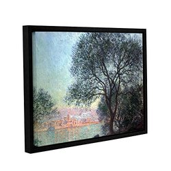 ArtWall Claude Monet's Antibes Gallery Wrapped Floater Framed Canvas - 14 x 18""