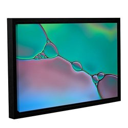 """ArtWall Cora Niele's Connected Gallery Wrapped Floater Framed Canvas 12 x 18"""""""