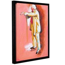 """ArtWall 18""""x24"""" Interpretation of The Dance Class Framed Canvas"""