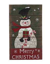 Attraction Design Merry Christmas Snowman Wall Decor, 20""