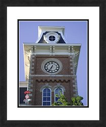 "NCAA Arkansas Razorbacks Clock Tower Sports Photograph - 18"" x 22"""
