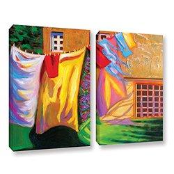 "ArtWall Susi Franco's French Laundry Canvas Set - 24"" X 32"" - 2Piece"