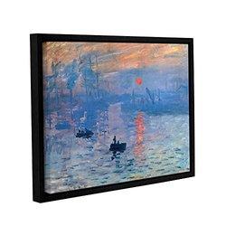 14in H X 18in W Framed Sunrise by Claude Monet - 1 Piece