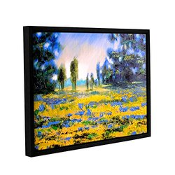 Susi Franco's Sea of Butter Gallery Floater-Framed Canvas - 18x24""