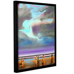 """Susi Franco's Oregon Razor Clammers Gallery Floater-Framed Canvas 18x24"""""""