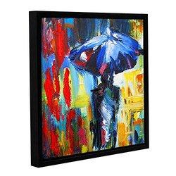 "ArtWall Susi Franco's Downtown Stroll Canvas - 18"" X 18"""