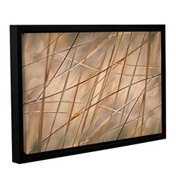 """Cora Niele's Deschampsia Gallery Wrapped Floater Framed Canvas - 16x24"""""""