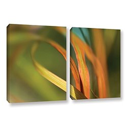 ArtWall Cora Niele's Autumn Grass 2 Piece Wrapped Canvas Set - 24 x 36""