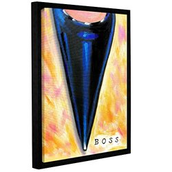 "ArtWall Susi Franco's Boss Gallery Wrapped Floater-Framed Canvas - 14""X18"""