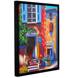 Susi Franco's Cafe Tino Gallery Wrapped Floater-Framed Canvas 14 x 18""