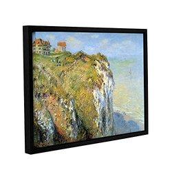 "ArtWall 18""x24"" Claude Monet's Cliffs Gallery Wrapped Framed Canvas"