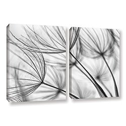 "ArtWall Cora Niele's Parachute Seed I Gallery Wrapped Canvas Set - 24""X36"""