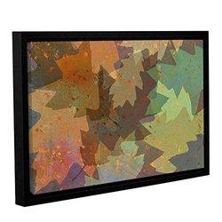 "ArtWall 16""x24"" Cora Niele's American Oak Leaves Framed Canvas"
