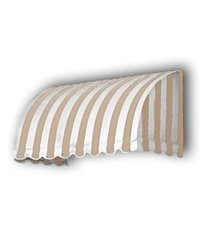 "Awntech 3-Feet Window/Entry Awning - Linen/White - 31""X24"" - RS22-3TW"