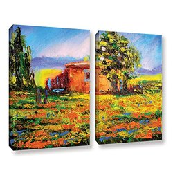 "ArtWall Susi Franco's Prarie Palace Canvas Set - 24"" X 32"" - 2Piece"