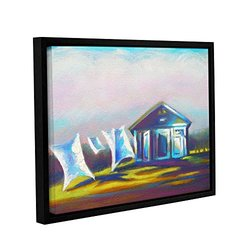"ArtWall Susi Franco's March Laundry Gallery Framed Canvas - 14"" X 18"""